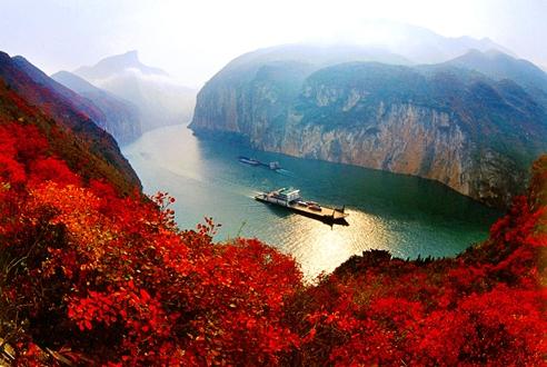 游三峡,最好的季节、邮轮的档次、旅游的路线介绍